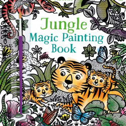 Jungle magic painting book, carte de pictat doar cu apa, usborne