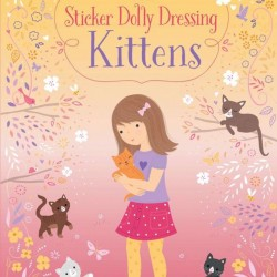 Little sticker dolly dressing kittens, usborne