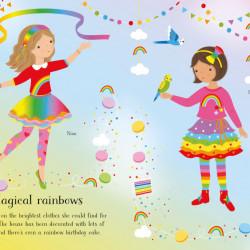 Little Sticker Dolly Dressing Parties, Fiona Watt, Usborne