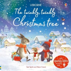The twinkly twinkly Christmas tree, usborne