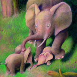 Vino cu mine, elefantelule!