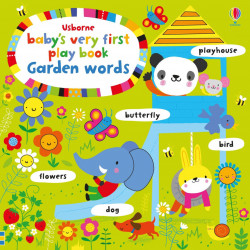 Baby's Very First Playbook Garden Words