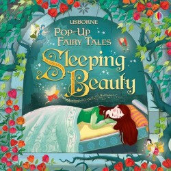 Carte 3D usborne pop-up, sleeping beauty