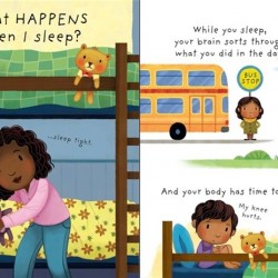 Carte cu multe clapete pentru copii curiosi, What is sleep? , usborne