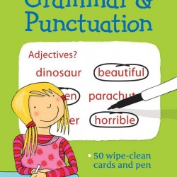 Grammar and punctuation wipe and clean cards