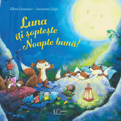 Luna iti sopteste noapte buna