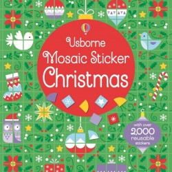 Mosaic sticker Christmas, Usborne