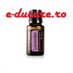 Ulei esential lavanda, Levănţică, Lavandula angustifolia,pentru somn linistit, imperfecțiuni ale pielii,15 ml,Doterra