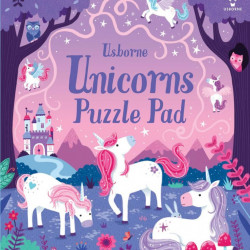Unicorns Puzzle Pad, Usborne