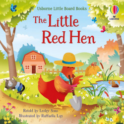 Usborne little board books, The Little Red Hen, 2+