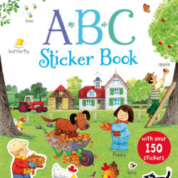 Abc, Poppy and Sam's first sticker book, 3+, usborne