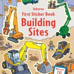 Building sites first sticker book