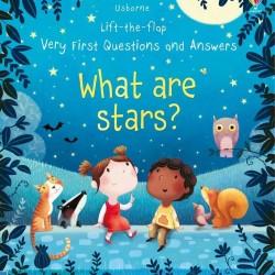 Carte cu multe clapete pentru copii curiosi, What are stars?, usborne