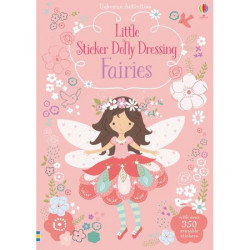 "Carte cu stickers ""Fairies"" , 4 ani+, Usborne"