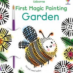 Carte de pictat doar cu apa, First Magic Painting Garden
