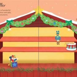 First sticker book Christmas market