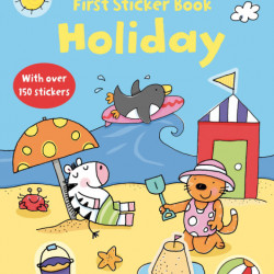 Holiday Sticker book, 3+, Usborne