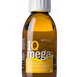 IQ Mega, ulei de peste si ulei esential de portocala, supliment natural pentru copii cu omega3, doterra, 150 ml