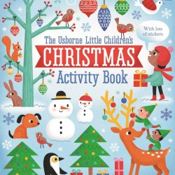 Little children's Christmas activity book, Usborne