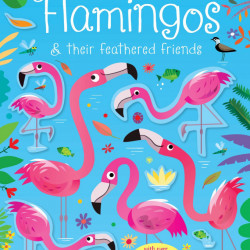 Little First Stickers Flamingos, 3+, Usborne