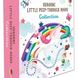 Little peep-through collection, set de 3 carti senzoriale pentru copii, usborne