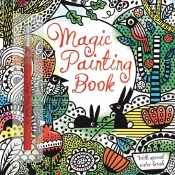 Magic painting book, carte magica de pictat doar cu apa, usborne