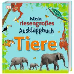 Marea mea carte plianta, Mein riesengroßes Ausklappbuch. Tiere, dk, 3+
