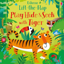 Play hide and seek with tiger, usborne