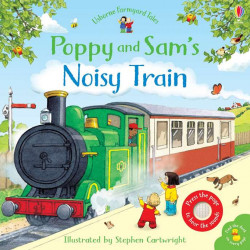 Poppy and Sam's Noisy train, Usborne