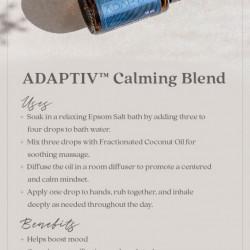 Amestec de Uleiuri Esentiale Adaptiv Calming Blend, pentru calmare, linistire, echilibru, 15 ml, DoTerra