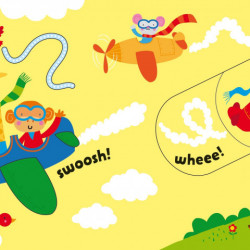 Baby's Very First Slide and See Things That Go, Usborne, 6+