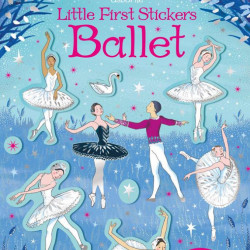 Ballet little first stickers, usborne