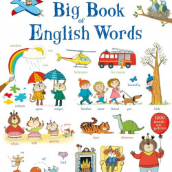 Big Book of English Words, Usborne