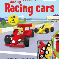 Carte cu jucarie, Wind-up racing cars, Usborne