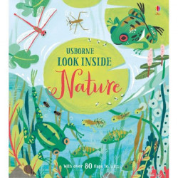 "Carte ""Look inside nature"", 5 ani+, Usborne"