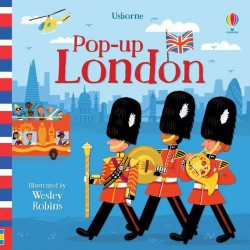 Carte pentru copii, 3D, Pop-up London, usborne