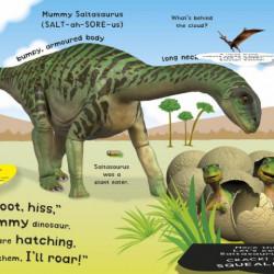 Carte sonora : Roar! Roar! Baby Dinosaur, DK
