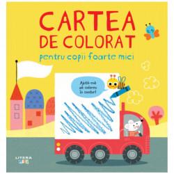 Cartea de colorat pentru copii foarte mici, Litera