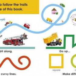 Follow the Trail Trucks, DORLING KINDERSLEY CHILDREN'S, dk