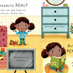 Lift-the-flap Very First Questions and Answers Are Dinosaurs Real? Katie Daynes, Usborne, 3+