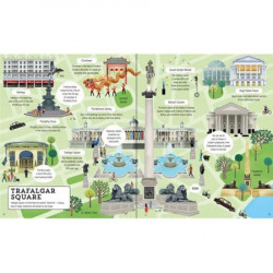 "Set Puzzle ""London picture book and jigsaw"" de Sam Smith, 5 ani+, Usborne"