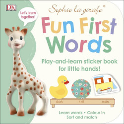Sophie la girafe Fun First Words, DK