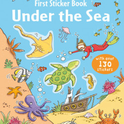 Under the sea sticker book, 3+, Usborne