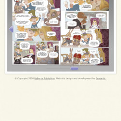 Alice in Wonderland graphic novel, Usborne