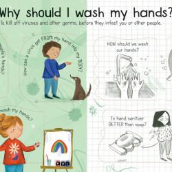 Carte cu multe clapete pentru copii curiosi, Lift-the-Flap First Questions and Answers What is a Virus?, Katie Daynes
