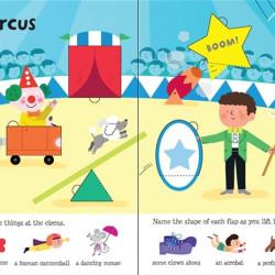 Carte cu multe clapete pentru copii curiosi, lift the flap shapes