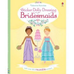 """Carte de activitati """"Bridesmaids"""" de Lucy Bowman, 5 ani+, Usborne"""