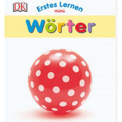 Carte in limba germana, primele cuvinte, Erstes Lernen mini, Wörter DK, 12+