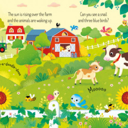 Carte si 3 puzzle-uri, Book and 3 Jigsaws: On the Farm Sam Taplin