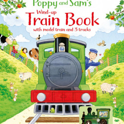 Poppy and Sam's Wind-up Train Book, Usborne, 3+